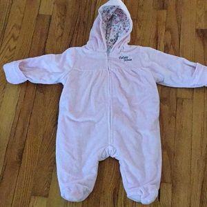 Calvin Klein size 6/9 months baby girl Snowsuit